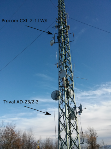 E79VFJ - antenski stub i antene