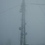 E79VFJ - antenski stub zimi